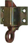 Oberlichtschnäpper groß, Eisen verzinkt. Andere Oberflächen sind gegen Aufpreis möglich.