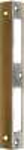 Winkelschließblech eckig, Schließblech aus Messing geschliffen. Auf Wunsch gegen Aufpreis in jedem Maß, auch für Kastenschloss.