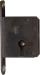 Einsteckschloß, Dorn 20mm, rechts, mit Zuhaltungen